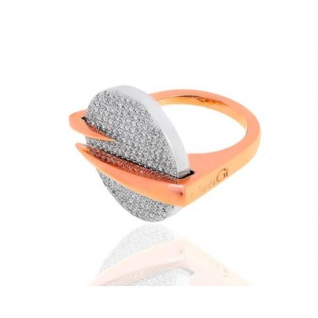 Красивое кольцо с бриллиантами 1.78ct Casa Gi