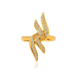 Итальянское кольцо с бриллиантами Raima