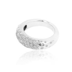 Кольцо с бриллиантами Chaumet Anneau