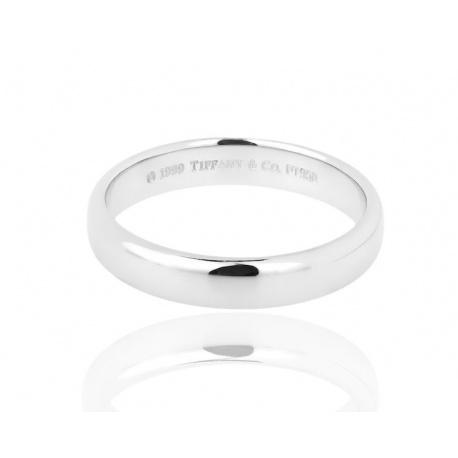 Мужское обручальное кольцо Tiffany&Co Classic