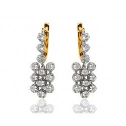 Достойные серьги с бриллиантами 1.44ct