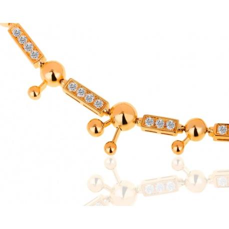 Роскошное колье с бриллиантами Bvlgari