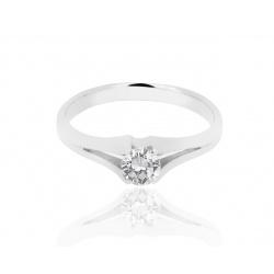 Помолвочное кольцо с бриллиантом 0.30ct