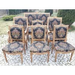 Комплект антикварной мебели с гобеленами
