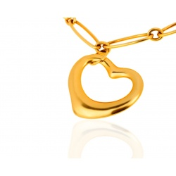 Элегантный браслет Tiffany Paloma Picasso Open Heart