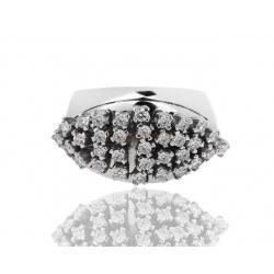 Изумительное кольцо с бриллиантами 0.82ct