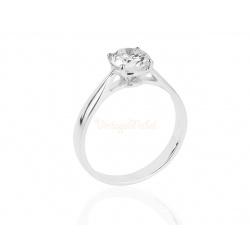 Помолвочное кольцо с бриллиантом 1.06ct