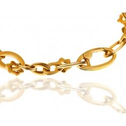 Модный золотой браслет Montblanс