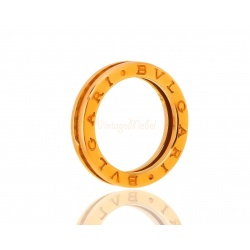 Золотое кольцо с бриллиантом Bvlgari B.Zero 1