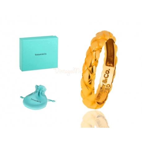 Стильное кольцо от бренда Тиффани