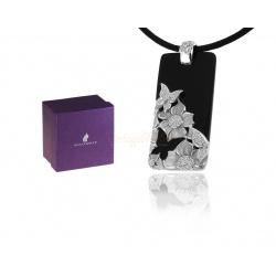 Кулон с ониксом и бриллиантами Magerit
