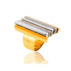 Экстравагантное кольцо с бриллиантами Ponte Vecchio