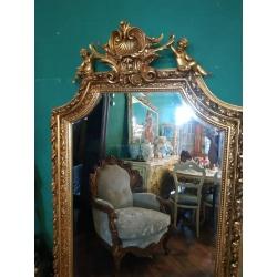 Зеркало с ангелочками Барокко