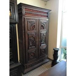 Шкаф в стиле Бретонь
