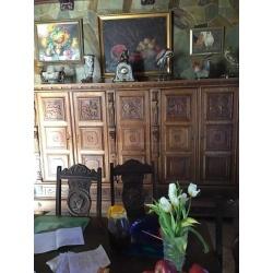 Длинный шкаф в стиле Ренессанс