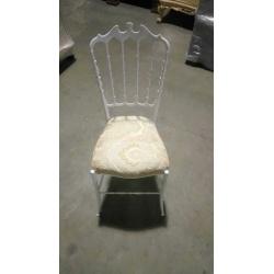 Винтажный белый стул