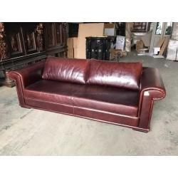 Английский кожаный диван