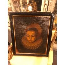 Старинный портрет 17 век