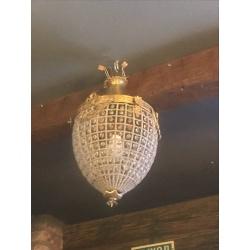 Потолочный светильник в стиле Барокко