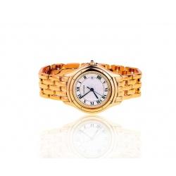Прекрасные часы с сапфиром Cartier