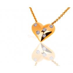 Утонченный кулон с бриллиантами Tiffany Etoile