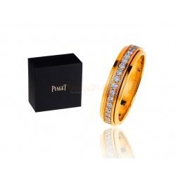Изящное золотое кольцо с бриллиантами 0.55ct Piaget