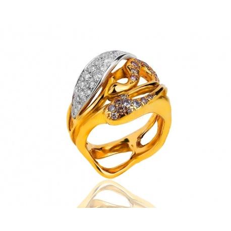 Золотое кольцо с бриллиантами Annamaria Cammilli