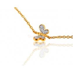 Золотой браслет с бриллиантами Tous