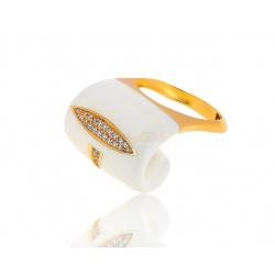 Изящное кольцо с бриллиантами Alessandro Fanfani
