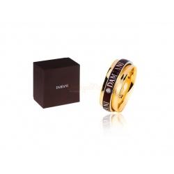 Стильное кольцо с бриллиантом Damiani Twister
