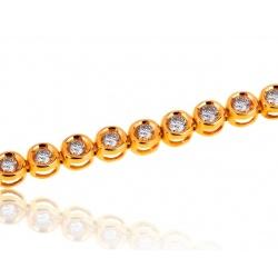 Теннисный браслет с бриллиантами 2.05ct