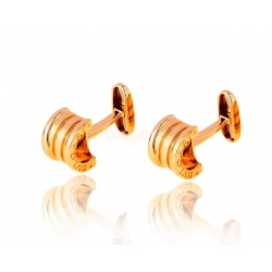 Золотые запонки Bvlgari