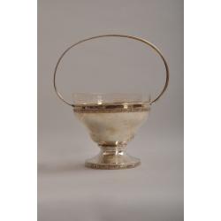 Серебряная конфетница ( Лот MH 1442 )