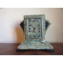 Часы из оникса Ар Деко