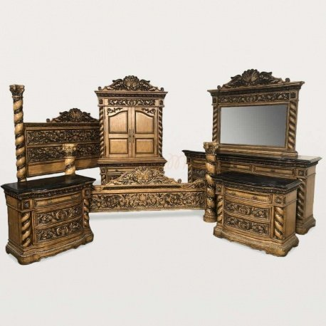 Антикварная Спальня комплект Ренессанс