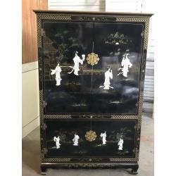 Винтажный шкаф Шинуазри