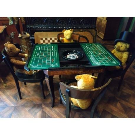 Игральный стол и 4 стула