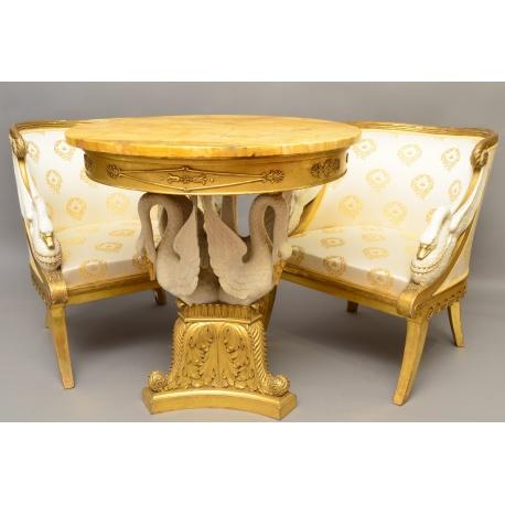 """Комплект мебели """"Белые лебеди"""" ( Лот MH 2013 )"""