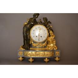 """Часы """"Праздник урожая"""" ( Лот 1544 )"""