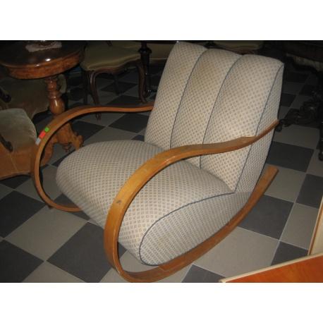 Антикварная кресло - качалка
