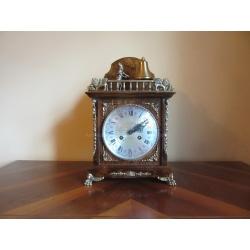 Каминные винтажные часы Franz Hermle