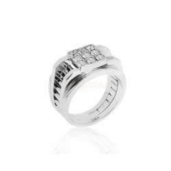 Восхитительное мужское кольцо с бриллиантами