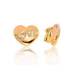 Серьги с бриллиантами Chopard Love