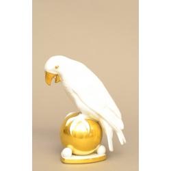 "Статуэтка ""Белый Попугай"" ( Лот MH 2151 )"