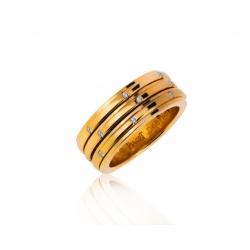 Достойное золотое кольцо с бриллиантами Piaget