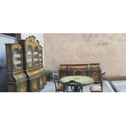 Столовая комната в стиле