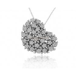 Золотой кулон с бриллиантами 1.36ct Pasquale Bruni