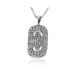 Золотой кулон с бриллиантами 1.05ct Bvlgari