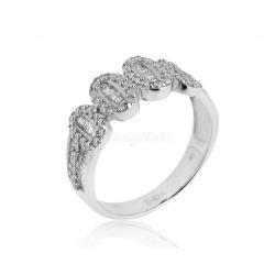 Кольцо с бриллиантами 0.86ct