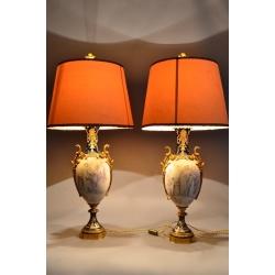 Вазы - Лампы парные Фабрики Севр
